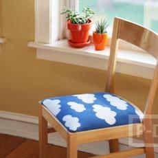 เบาะเก้าอี้ ตกแต่งลายใหม่ สีสวยถูกใจ