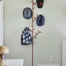 ไอเดียทำที่แขวนหมวก แขวนเสื้อ จากสก็อตเทป