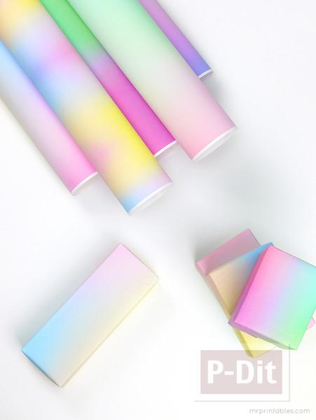 กระดาษห่อของขวัญ ลายสวย สีสดใส