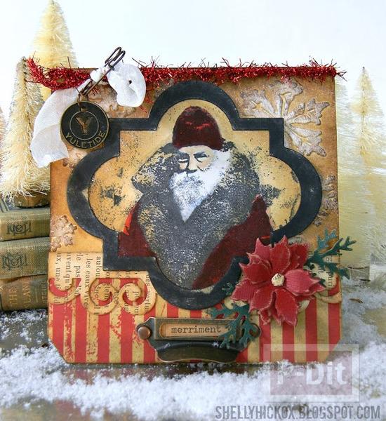การ์ดคริสต์มาส สวยๆ ตกแต่งไม่เหมือนใคร