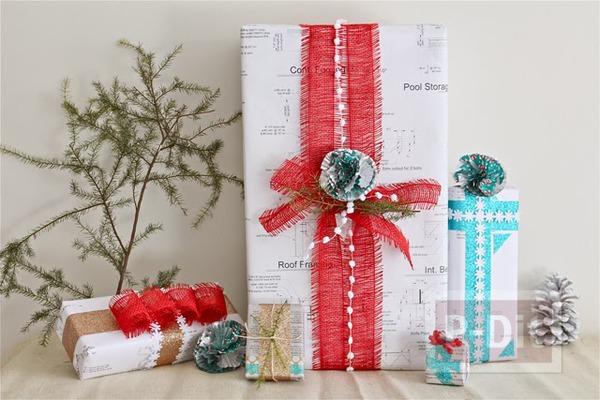 รูป 1 ไอเดียห่อของขวัญ วันคริสต์มาส ปีใหม่