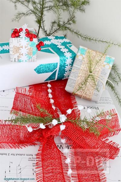 รูป 5 ไอเดียห่อของขวัญ วันคริสต์มาส ปีใหม่