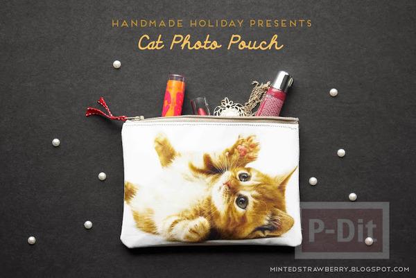 รูป 2 กระเป๋าน่ารัก ลายแมว เย็บเอง