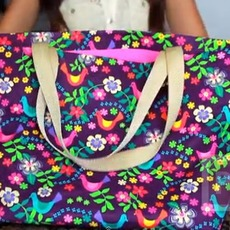 กระเป๋าใส่ของ ทำจากผ้าและสก็อตเทป