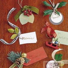 การ์ดคริสต์มาส แผ่นเล็กๆ น่ารักๆ
