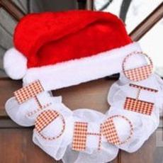 ป้ายติดประตูบ้าน หมวกซานตาครอส