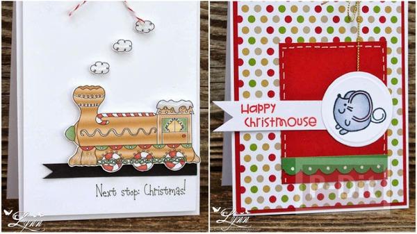 การ์ดคริสต์มาสสวยๆ แบบง่ายๆ หลากหลายไอเดีย