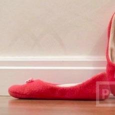สอนทำรองเท้าใส่ในบ้าน นุ่มนิ่ม