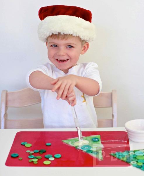 รูป 5 การ์ดคริสต์มาส ประดับกระดุม เม็ดสวย