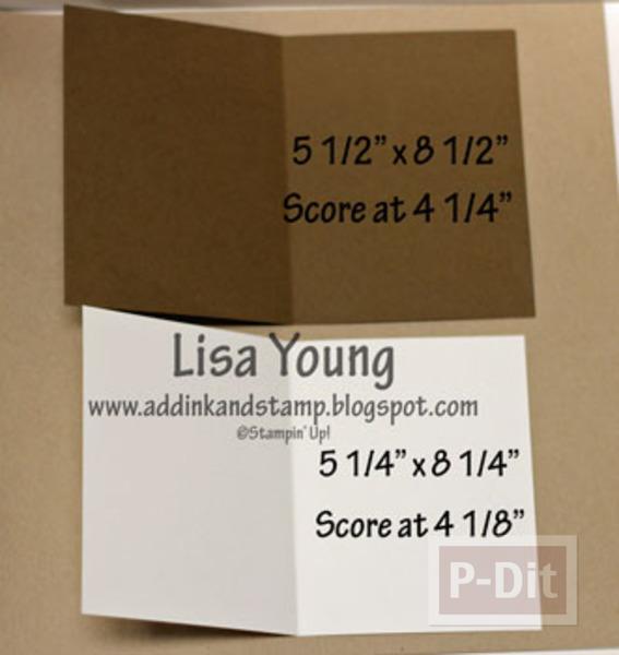 รูป 3 การ์ดป็อบอัพ กล่องของขวัญ สามกล่อง