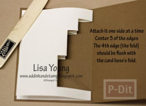 รูป 7 การ์ดป็อบอัพ กล่องของขวัญ สามกล่อง
