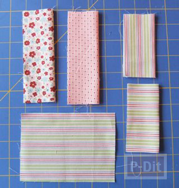 รูป 5 เย็บที่ใส่กระดาษทิชชู สำหรับพกพา