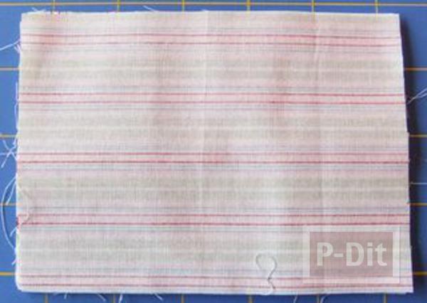 รูป 6 เย็บที่ใส่กระดาษทิชชู สำหรับพกพา