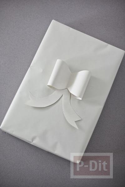 รูป 2 ไอเดียห่อกล่องของขวัญ ลายสวย ตกแต่งง่ายๆ