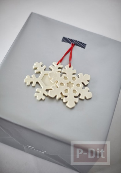 รูป 4 ไอเดียห่อกล่องของขวัญ ลายสวย ตกแต่งง่ายๆ