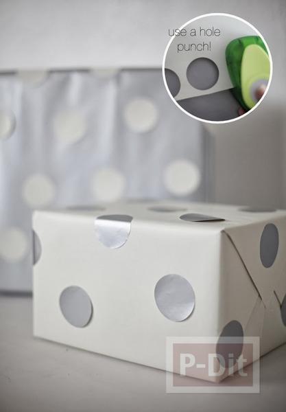 รูป 6 ไอเดียห่อกล่องของขวัญ ลายสวย ตกแต่งง่ายๆ