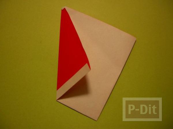 รูป 5 พับกระดาษ ซานตาครอส ตัวเล็กๆ