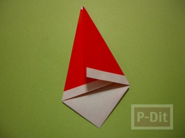 รูป 6 พับกระดาษ ซานตาครอส ตัวเล็กๆ