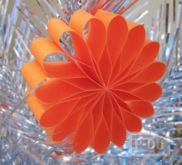 ดอกไม้กระดาษ ทำเองสวยๆ คล้ายใบพัด