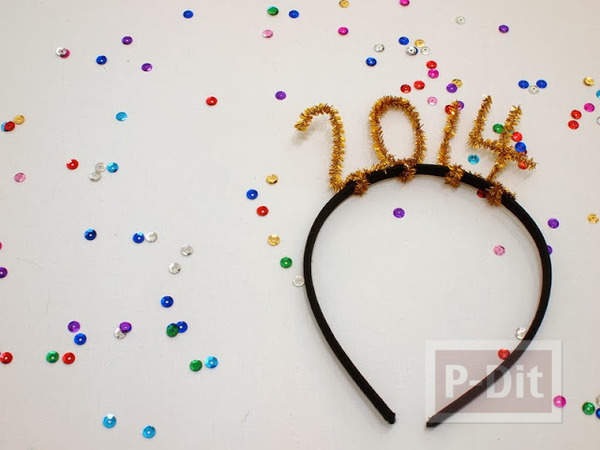 รูป 3 ที่คาดผม เทศกาลต้อนรับปีใหม่ 2557(2014)