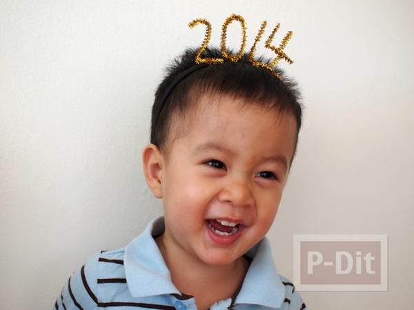 รูป 4 ที่คาดผม เทศกาลต้อนรับปีใหม่ 2557(2014)