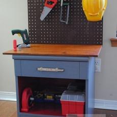 ทำโต๊ะของเล่น จากโต๊ะเก่า