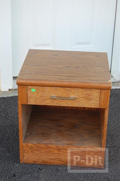 รูป 4 ทำโต๊ะของเล่น จากโต๊ะเก่า