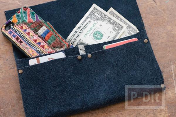รูป 1 กระเป๋าสตางค์ ทำเอง แบบง่ายๆ