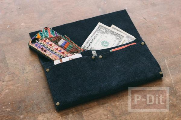 รูป 3 กระเป๋าสตางค์ ทำเอง แบบง่ายๆ