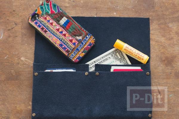 รูป 4 กระเป๋าสตางค์ ทำเอง แบบง่ายๆ