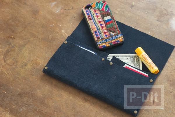 รูป 5 กระเป๋าสตางค์ ทำเอง แบบง่ายๆ