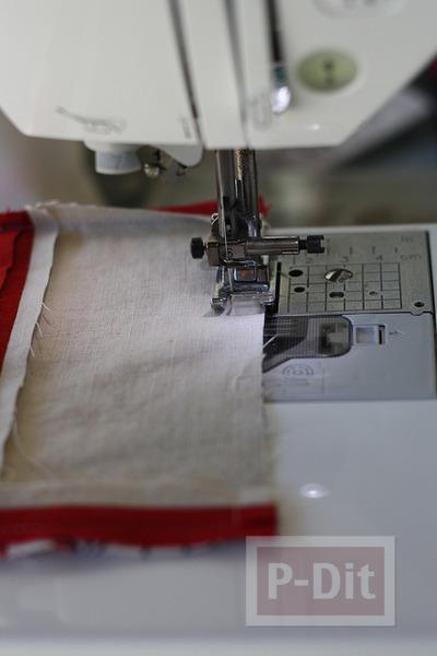 รูป 5 ทำที่ใส่กระดาษทิชชู จากผ้า