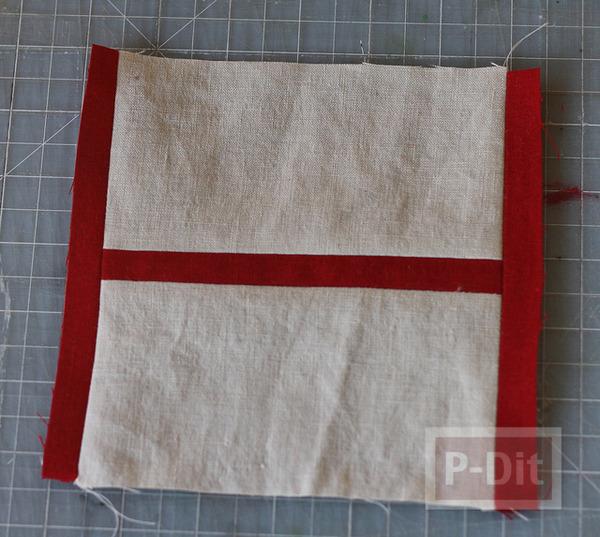 รูป 6 ทำที่ใส่กระดาษทิชชู จากผ้า