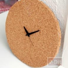 ไอเดียประดิษฐ์นาฬิกา ไม้ก็อก