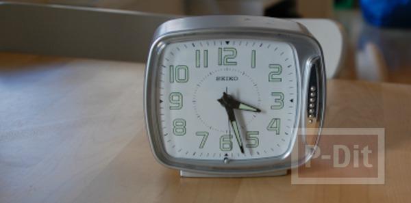 รูป 2 ไอเดียประดิษฐ์นาฬิกา ไม้ก็อก