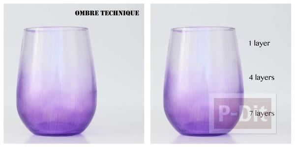 รูป 7 ระบายสีสวย ตกแต่งแก้วใส่เครื่องสำอางค์