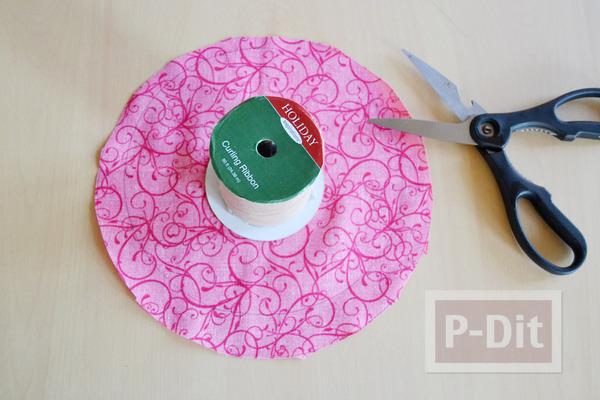 รูป 3 หมวกใบเล็ก ทำเอง สีชมพูหวานๆ