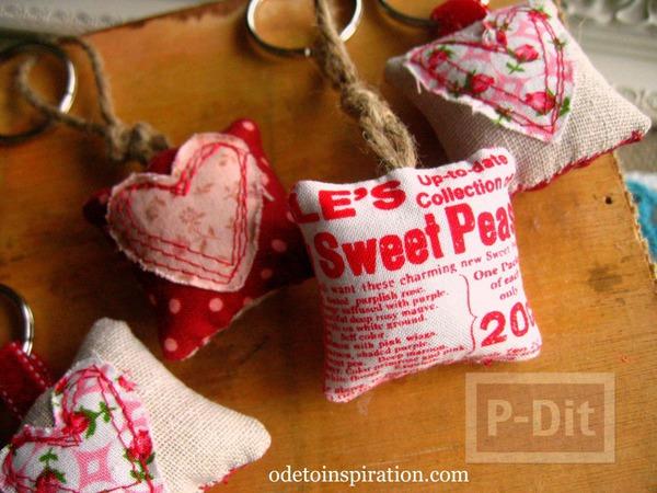 รูป 5 พวงกุญแจ หัวใจ ของขวัญน่ารักๆ