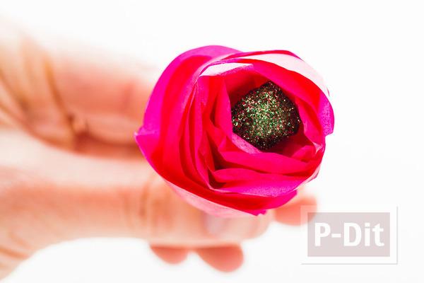 รูป 3 มงกุฎดอกไม้ ช่อดอกไม้ โมบาย สีสด