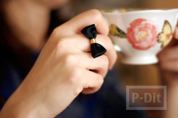 แหวนใส่เล่น ทำเอง แบบง่ายๆ