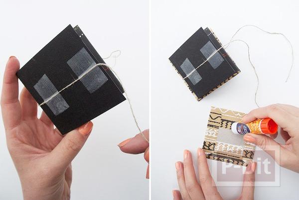 รูป 2 ทำอัลบั้มรูป สวยๆ จากกระดาษแข็ง