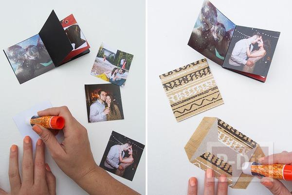 รูป 4 ทำอัลบั้มรูป สวยๆ จากกระดาษแข็ง