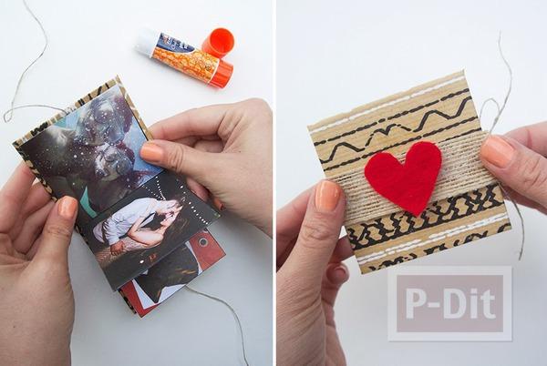 รูป 5 ทำอัลบั้มรูป สวยๆ จากกระดาษแข็ง