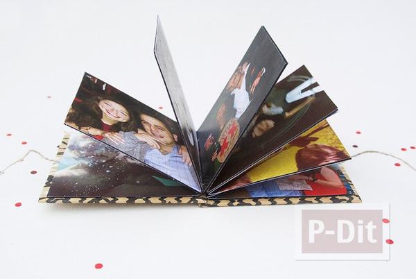 รูป 7 ทำอัลบั้มรูป สวยๆ จากกระดาษแข็ง