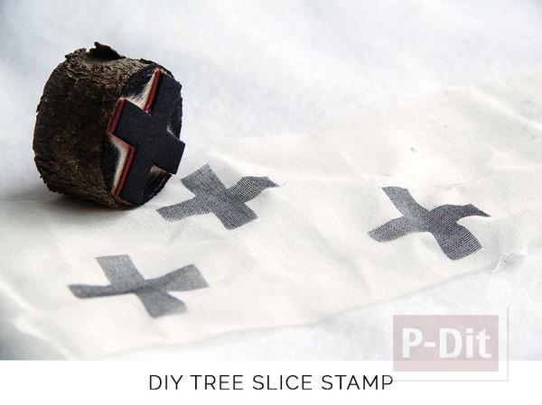 รูป 2 สอนทำตัวปั้ม จากท่อนไม้และโฟมพลาสติก