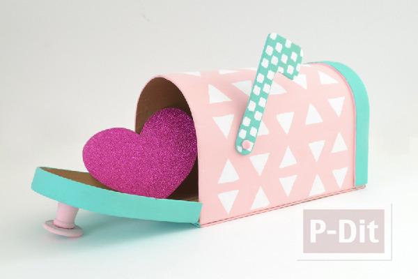 รูป 1 กล่องจดหมาย ส่งหัวใจ ถึงหน้าบ้าน