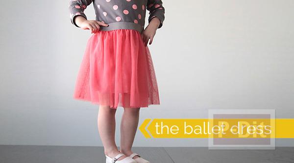 เย็บชุดเต้นบัลเล่ต์ ให้เด็กเล็ก