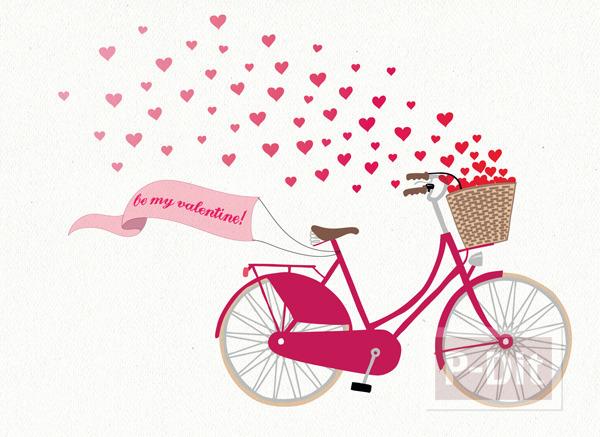 รูป 2 โปรยดอกไม้หัวใจ บอกรักผ่านการ์ด