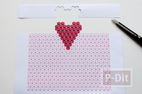 รูป 5 ป็อบอัพการ์ด หัวใจ