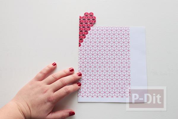 รูป 6 ป็อบอัพการ์ด หัวใจ